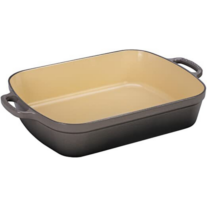 Le Creuset 4.9L Roasting Pan - Oyster