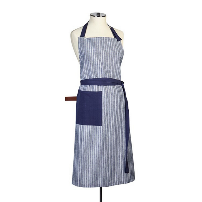Harman Chambray Stripe Apron