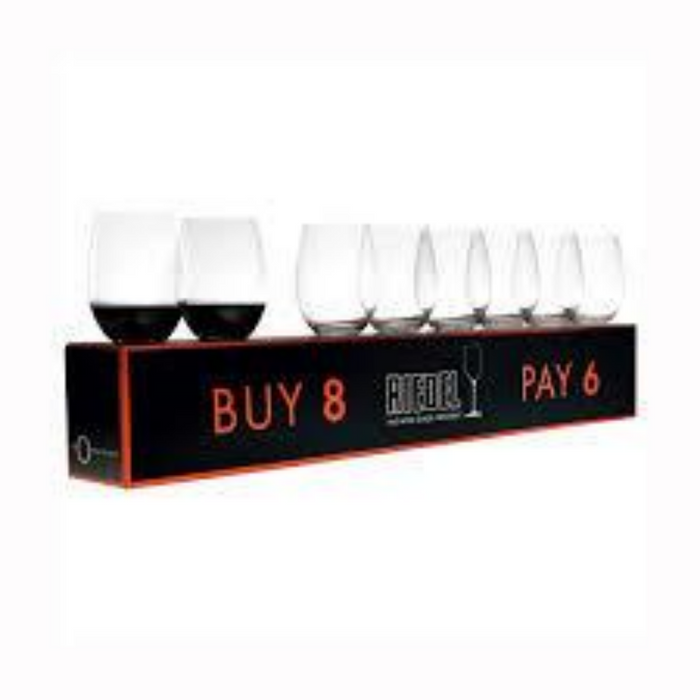 Riedel O Wine Tumbler Cabernet/Merlot - Pay 6 Get 8