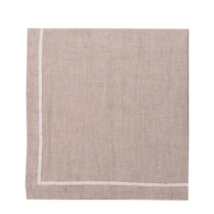Linen Way Napkins Alice, Stonewashed Linen - set of 4