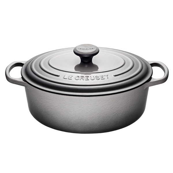 Le Creuset 4.7L Oval French Oven - Oyster