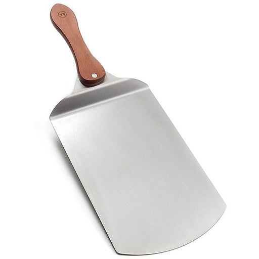 Rosewood Handle Stainless Steel Pizza Peel - Cookery