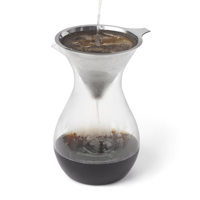 Ricardo Stainless Steel Pour Over Coffee Filter with removable base