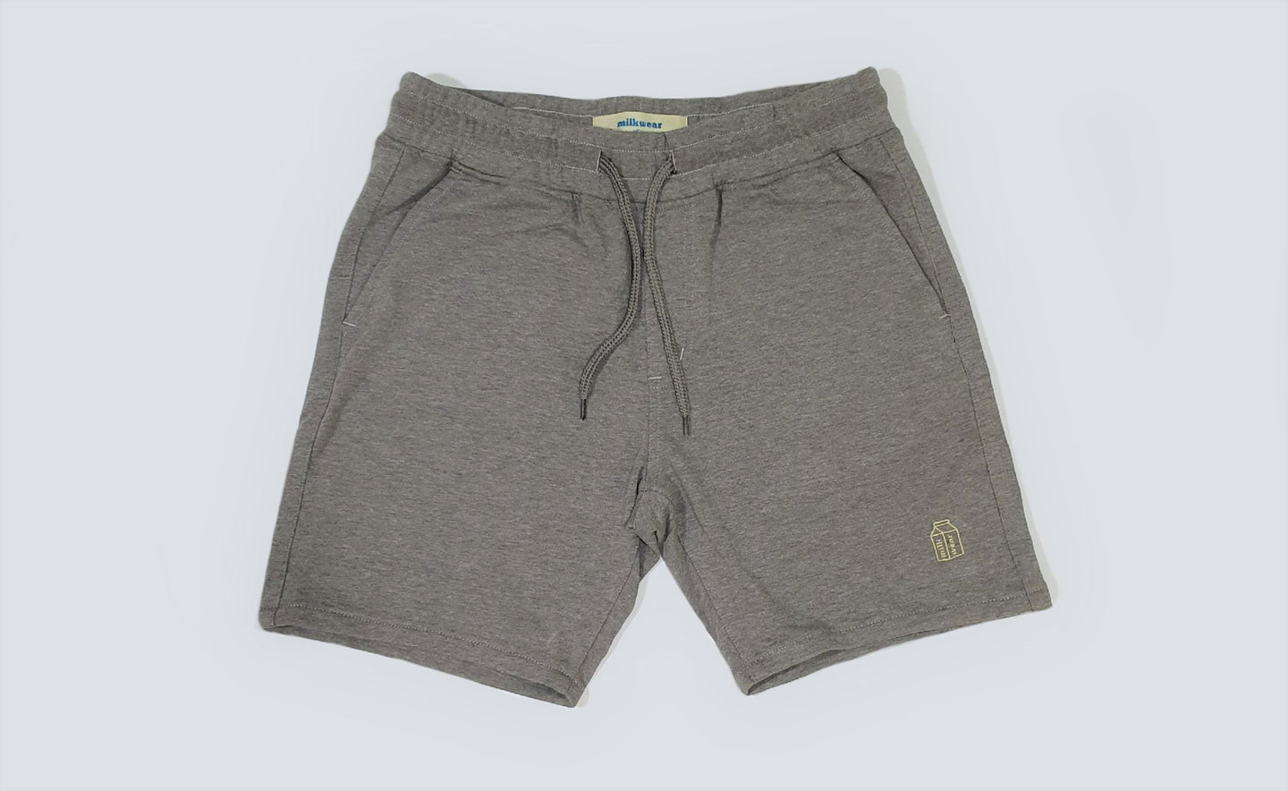 Milkwear French Terry Shorts in Gray
