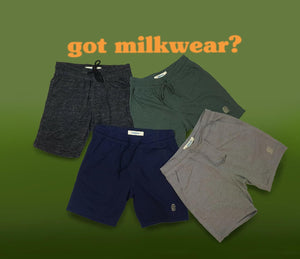 Milkwear French Terry Shorts in Green
