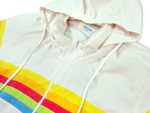 Rainbow Windbreaker Jacket