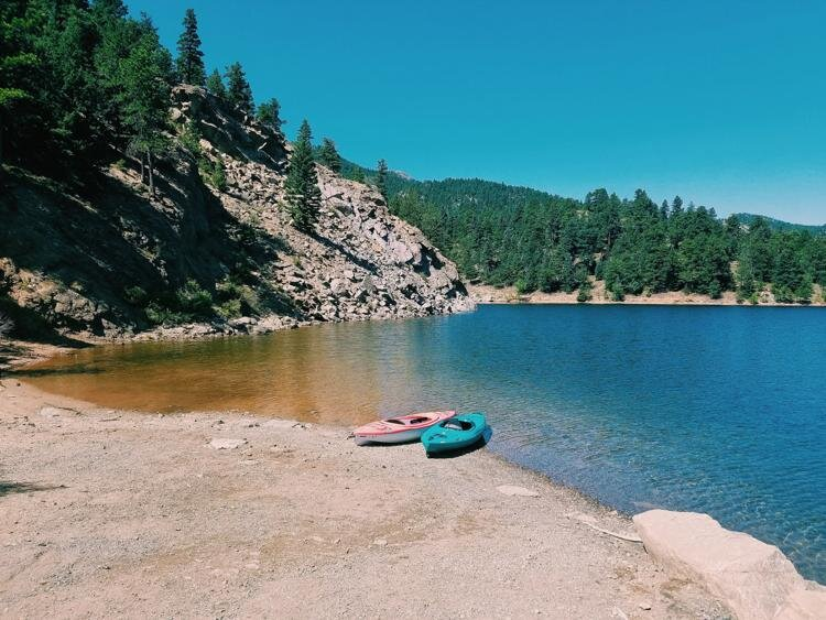 5 HIDDEN LAKES IN COLORADO