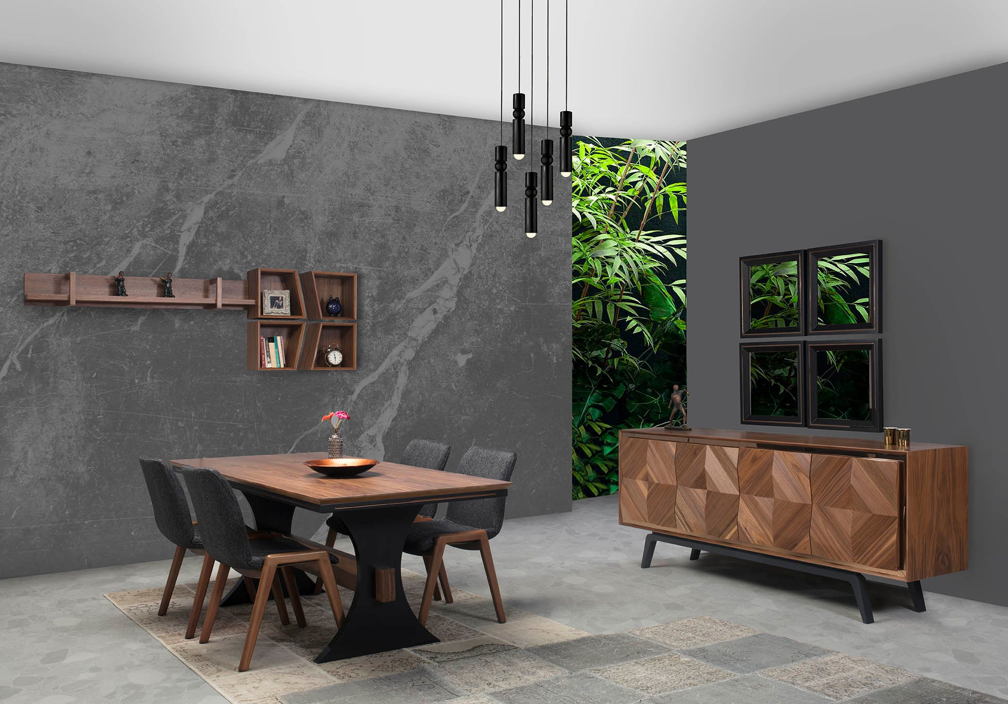 PİRAMİT Dining room