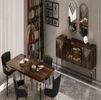 VALENTİNA WALNUT Dining room