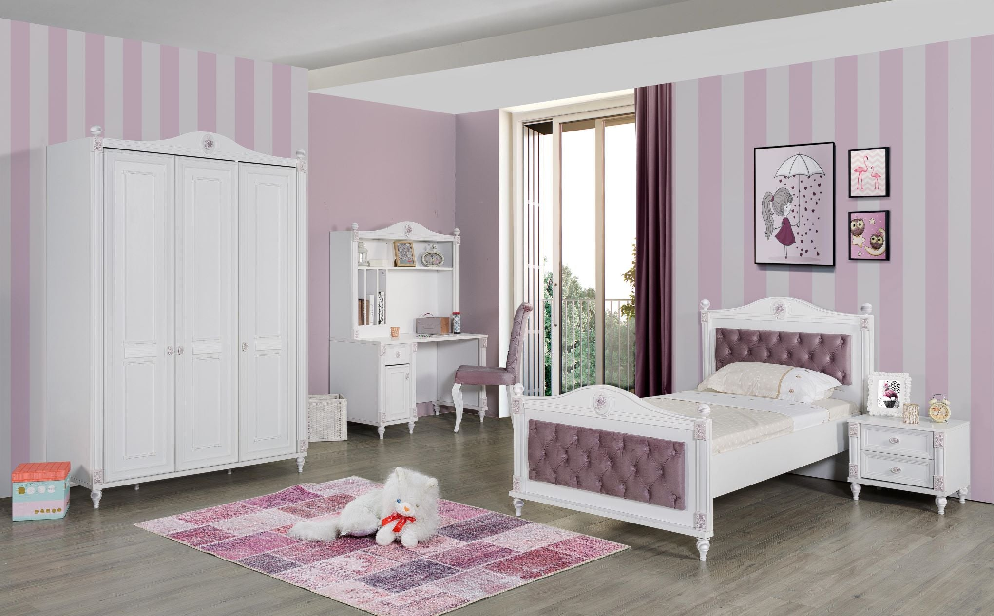 Gold Young Room Set