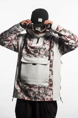 Load image into Gallery viewer, floral snowboarding technical jacket