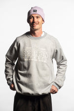 mens winter sweatshirt grey