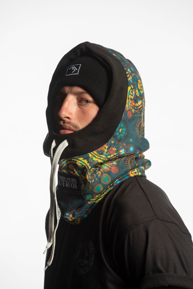 Laden Sie das Bild in den Galerie-Viewer, printed fleece winter balaclava