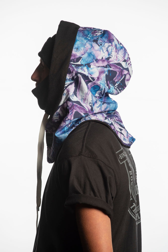 Load image into Gallery viewer, purple snowboarding hood