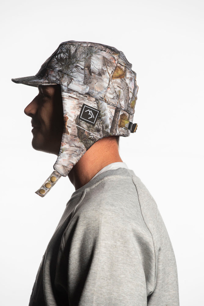 forest camo snowboarding hat