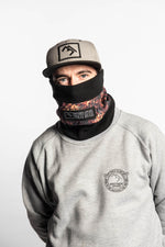 bronze snowboarding fleece neck warmer