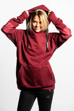 Ladies Shredduh Hoodie - Dusk Sky - brethrenapparel