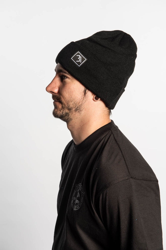 Beanie - Black - brethrenapparel