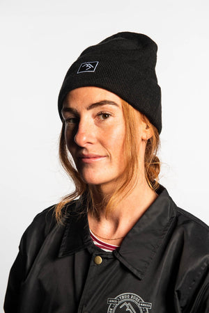 Load image into Gallery viewer, Beanie - Black - brethrenapparel