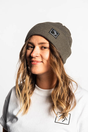 Load image into Gallery viewer, Beanie - Charcoal - brethrenapparel