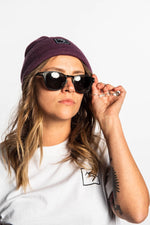 Beanie - Purple - brethrenapparel