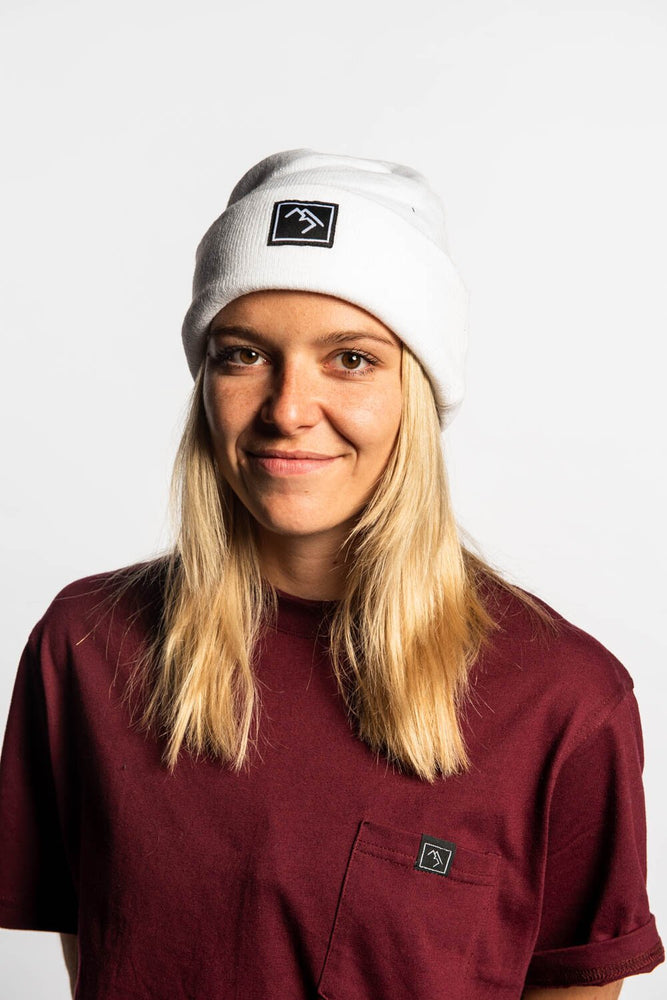 Load image into Gallery viewer, Beanie - White - brethrenapparel