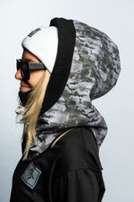 Black Ice Druid Hood - brethrenapparel