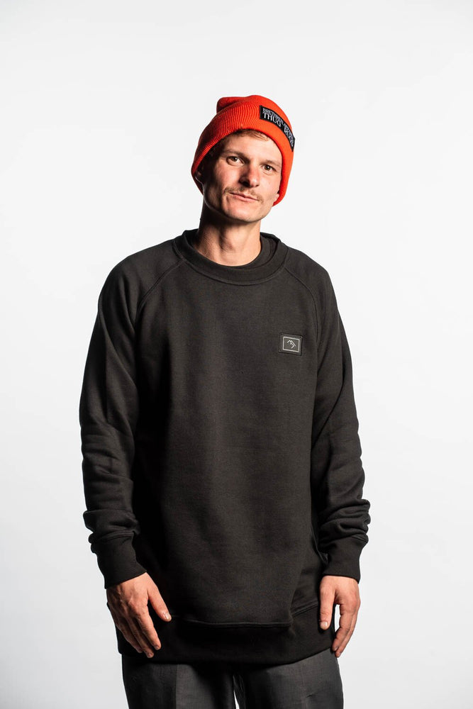 Forest Daze Crewneck - Black - brethrenapparel