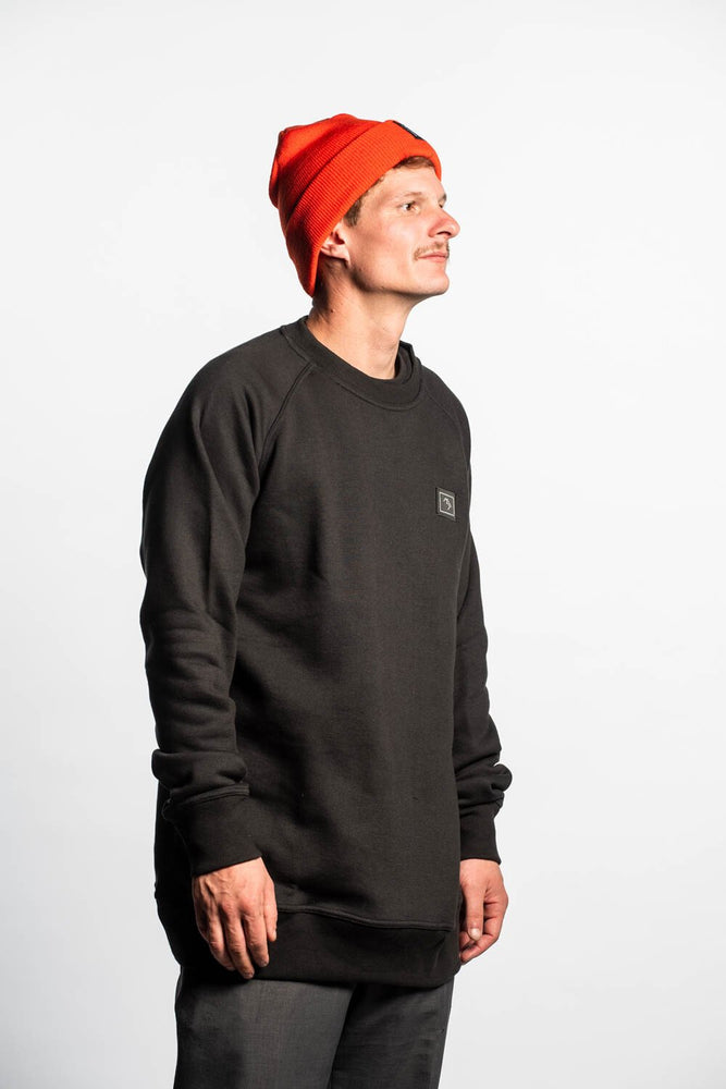 Load image into Gallery viewer, Forest Daze Crewneck - Black - brethrenapparel