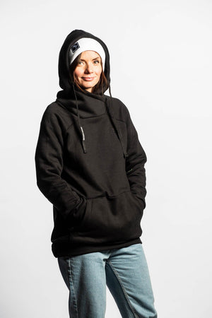 Laden Sie das Bild in den Galerie-Viewer, Ladies Shredduh Hoodie - Nightwatch - brethrenapparel
