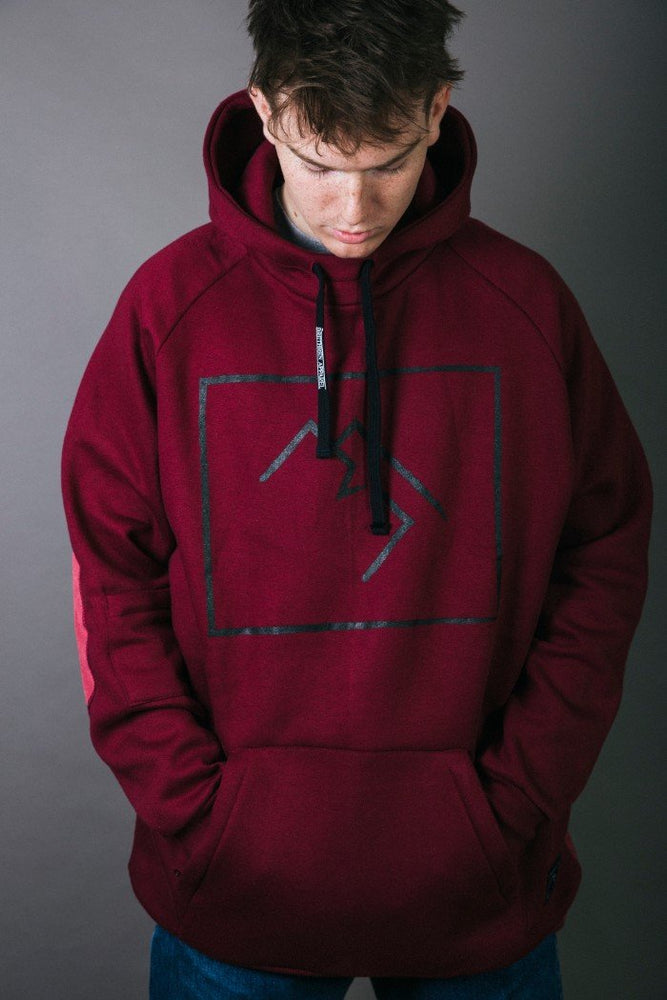 Load image into Gallery viewer, Shredduh Hoodie 2.0 - The Red District - brethrenapparel