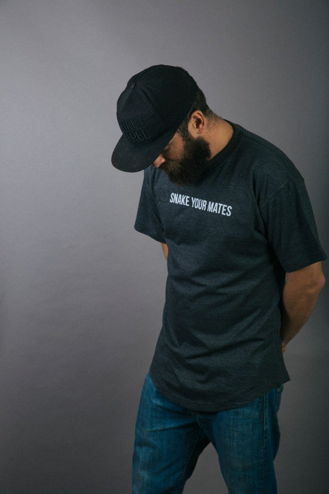 Motto Tee - Charcoal - brethrenapparel