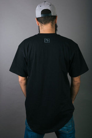 Load image into Gallery viewer, Stamp Tee - Black - brethrenapparel