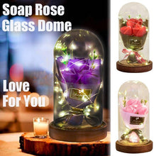 Load image into Gallery viewer, Light Soap Rose Flower Bouquet