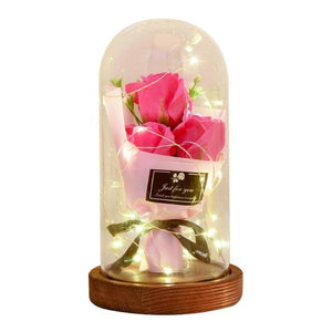 Light Soap Rose Flower Bouquet