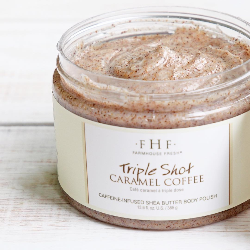 Triple Shot Caramel Coffee Shea Butter Body Polish