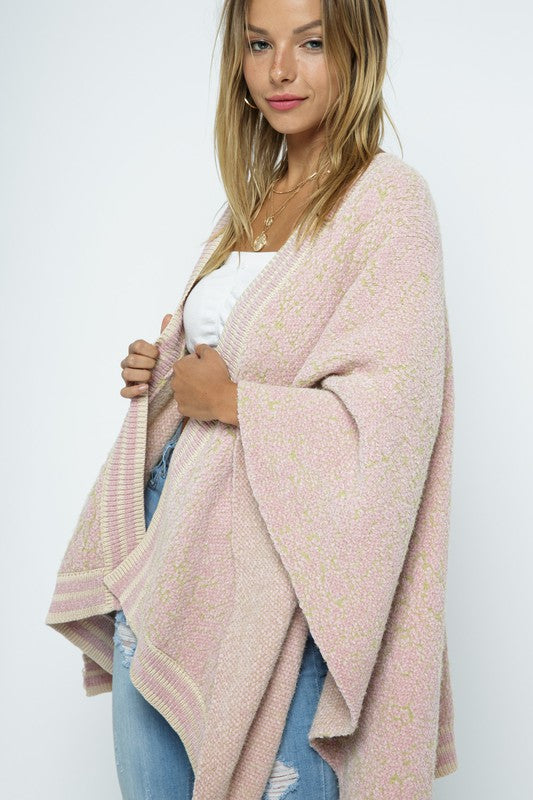 Cozy Pink Soft Wrap - One Size Fits Most