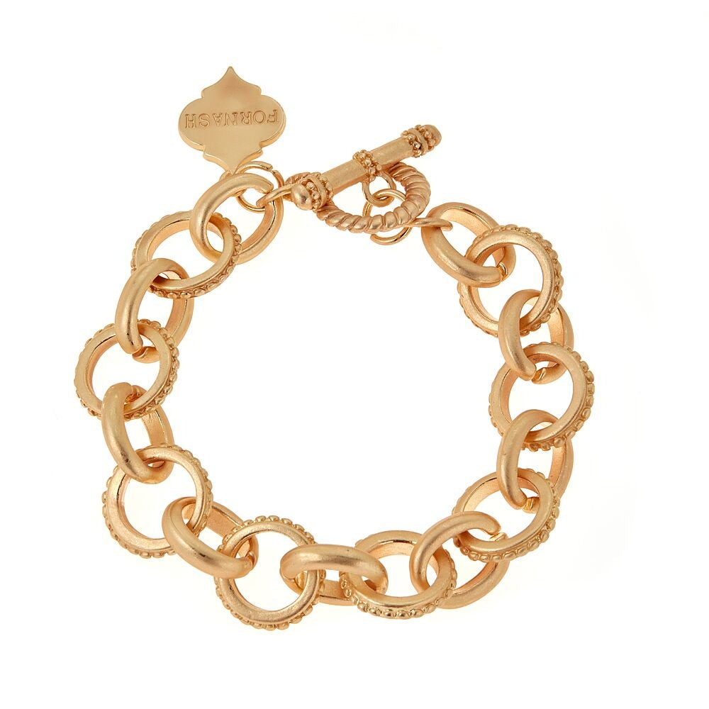 Brush Gold Bella Bracelet