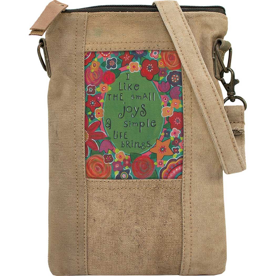 Small Joys Recycled Tent Crossbody