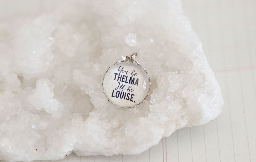 Thelma And Louise Soldered Art Charm