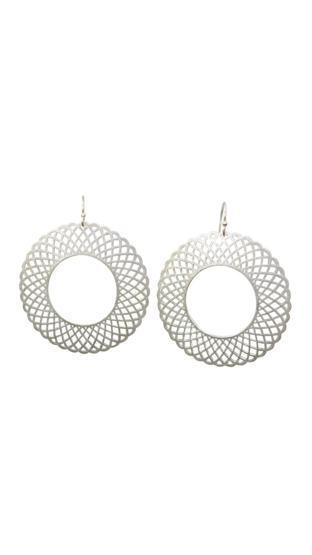 Spirograph Earrings - FINAL SALE