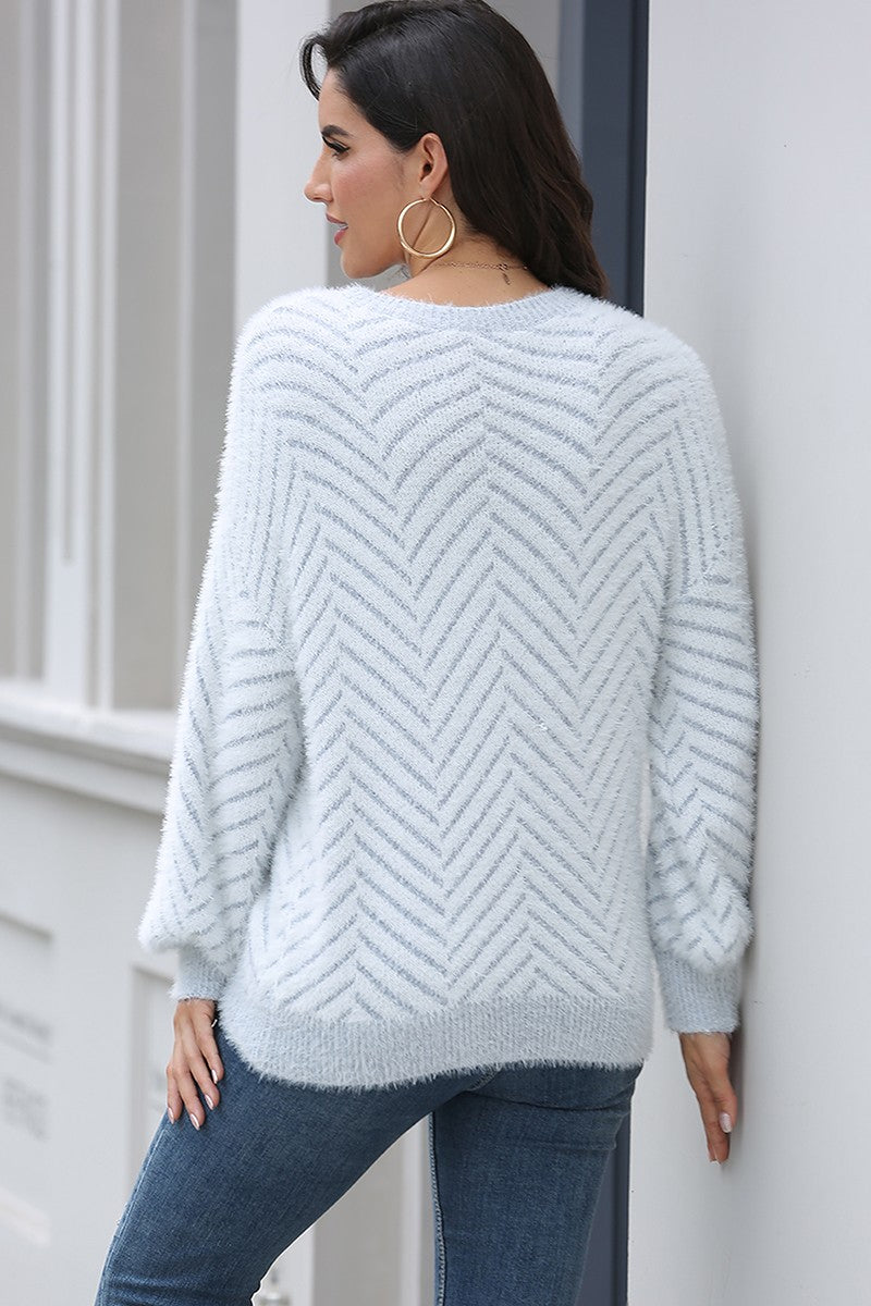 Lightweight Patterned Sweater