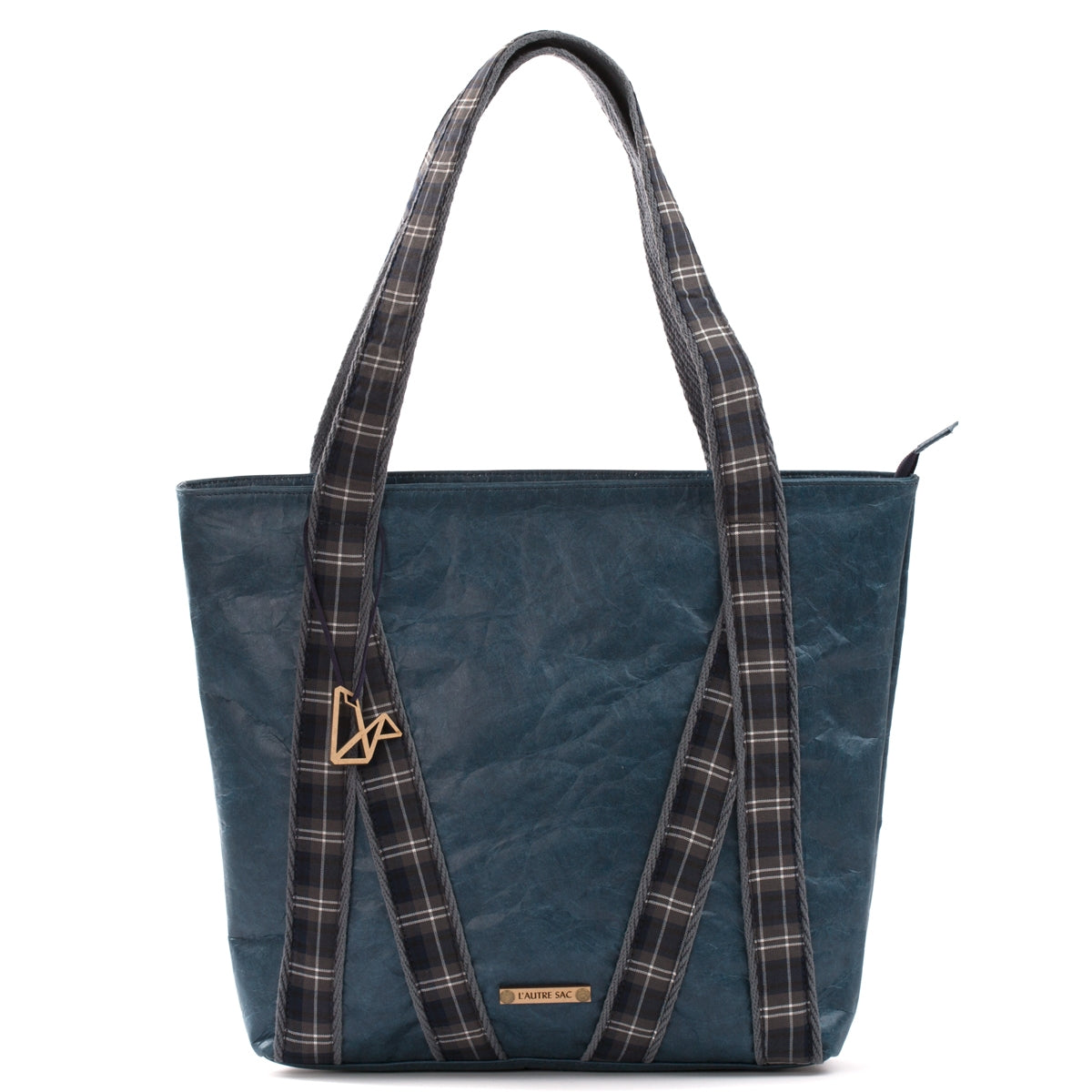 Dolly Blue Vegan Tote