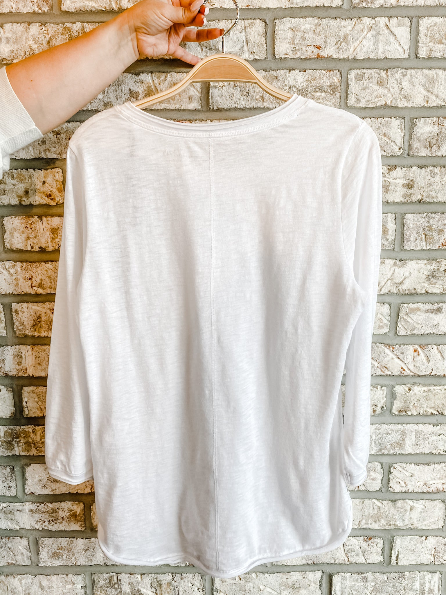 White Pima Cotton Top