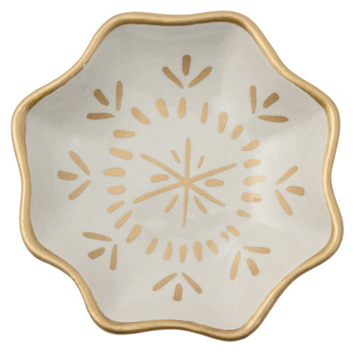 Large Trinket Tray White