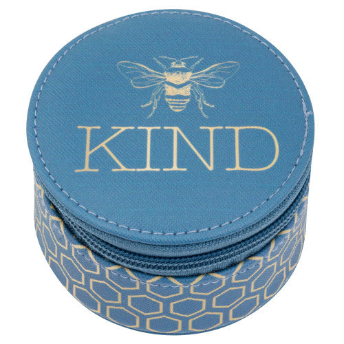Round Travel Case-Bee