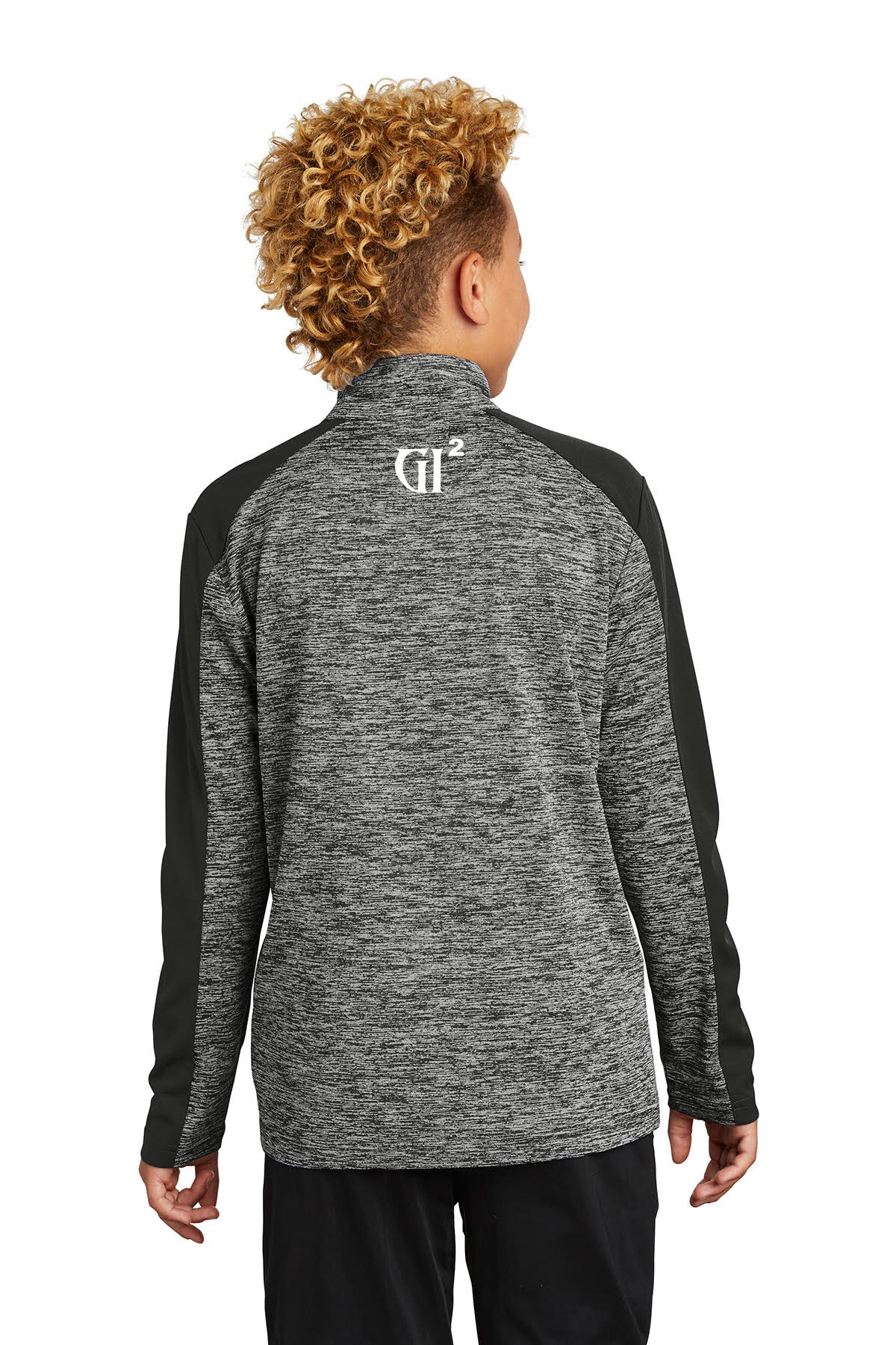Youth 1/4 zip Heather Pullover - GET IT IN Apparel