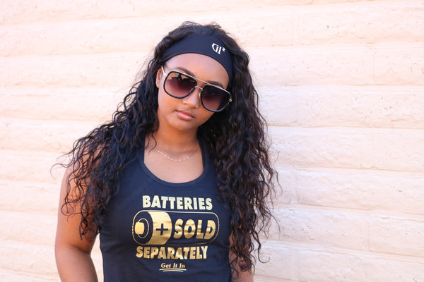 Ladies Batteries Tank - GET IT IN Apparel