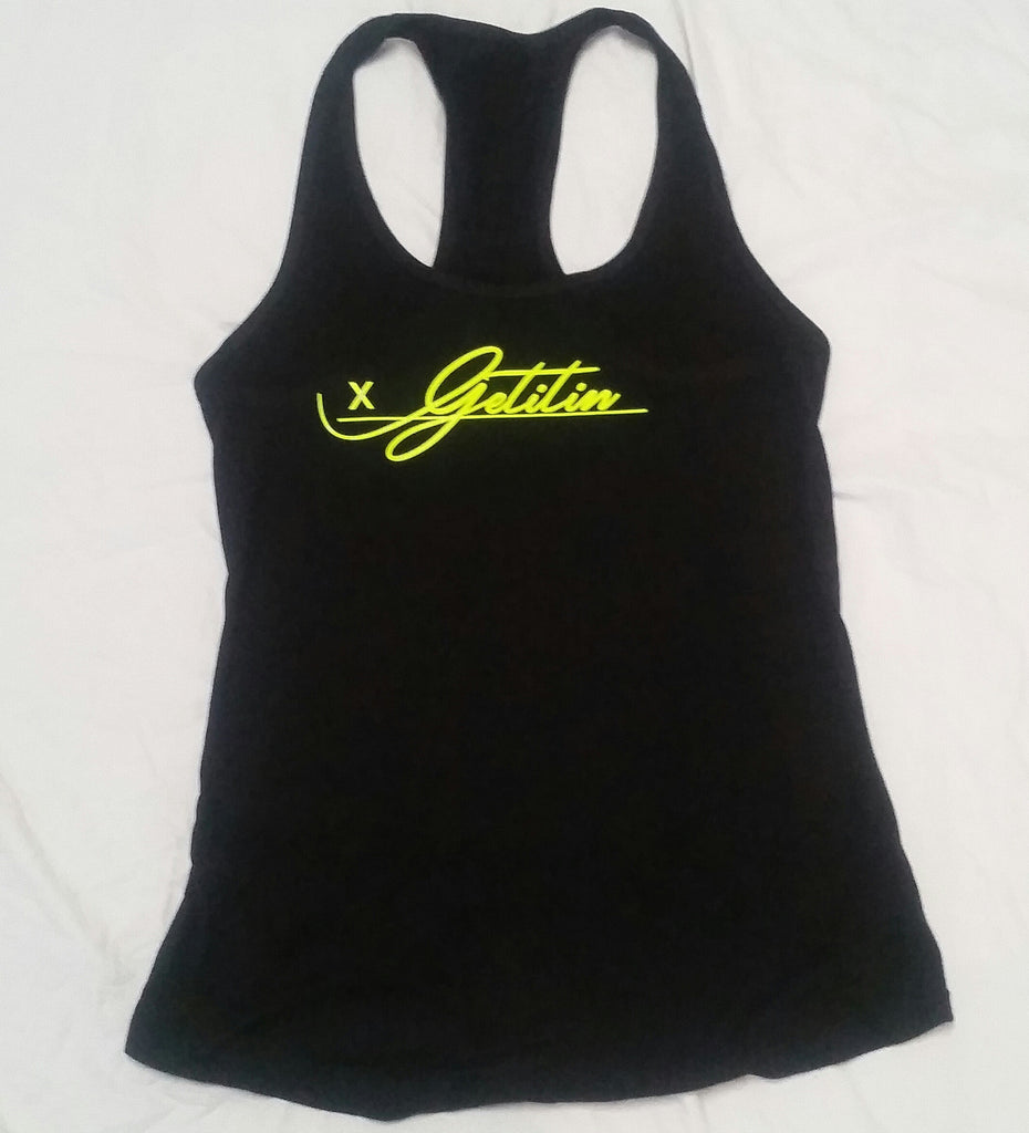 "GET IT IN Signature ladies ""All on the line"" tank top - GET IT IN Apparel"