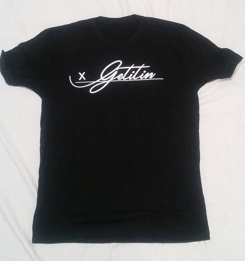 "GET IT IN Signature ""All on the line"" T-shirt - GET IT IN Apparel"